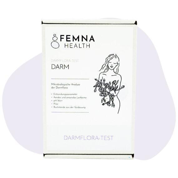 Darmflora-Test Frau FEMNA