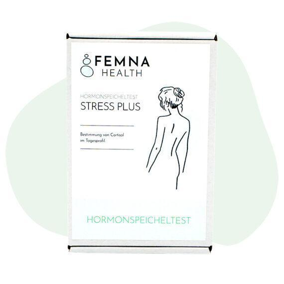 Stress Plus Cortisoltest Frau FEMNA