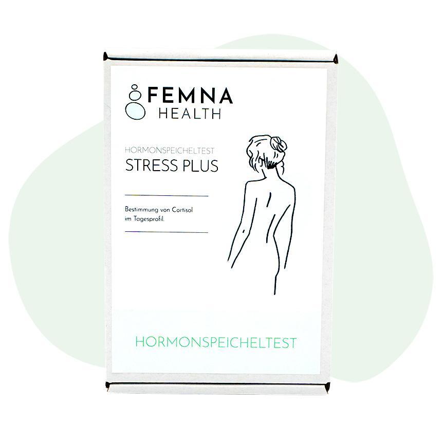 Stress Plus Cortisoltest Frau FEMNA