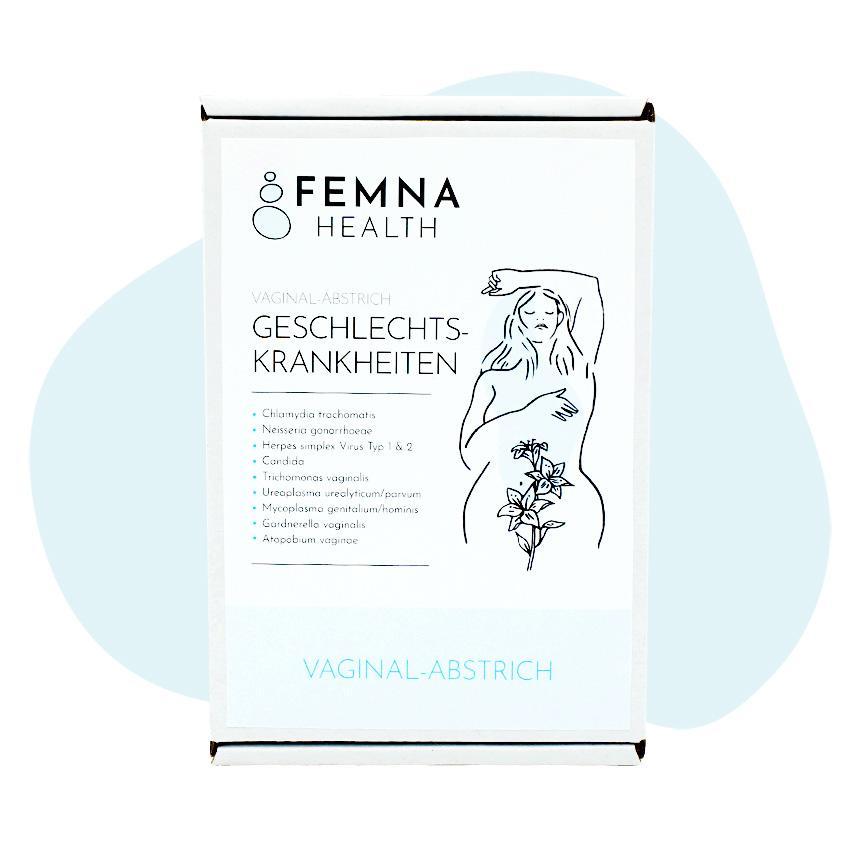 Geschlechtskrankheiten-Test Frau FEMNA