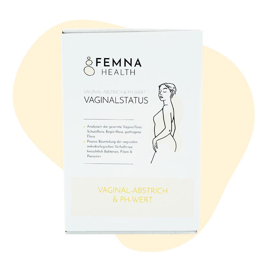 Vaginalstatus Frau FEMNA
