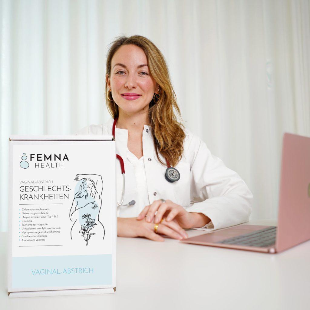Test auf Geschlechtskrankheiten Ärztin