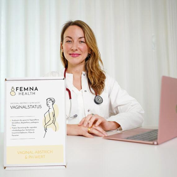 Vaginalstatus & Ärztliche Beratung FEMNA